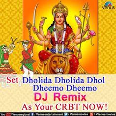 "Navratri Remix !!  Set ""Dholida Dholida Dhol Dheemo Dheemo DJ Remix"" as your CRBT Now !! #Vodafone - 5376679715 #Airtel - 5432115035295 #Idea- 567896679715  Download ""Navratri Superhits Dandiya & Garba App"" FREE:http://bit.ly/2dccRg7 @GooglePlayStore & Enjoy FREE Audio/Video Streaming & lots more...  #Navratri #DiscoDandiya #Garba #Dandiya #RaasGarba #Navratri2016 #IndianFestival #VenusRegional #Navratri #Remix"