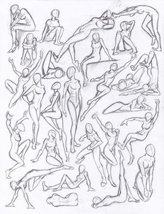 Figure drawing studies - poses by -You can find Human figures and more on our website.Figure drawing studies - poses by - Human Figure Drawing, Figure Sketching, Figure Drawing Reference, Drawing Reference Poses, Figure Drawings, Hand Reference, Figure Drawing Tutorial, Human Body Drawing, Anatomy Reference