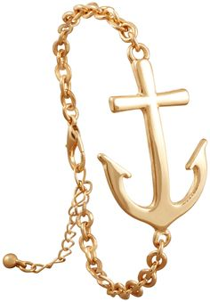 Bijou Brigitte  Braccialetto - Golden Anchor