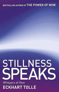 "Stillness Speaks by Eckhart Tolle.  One of our librarians had this to say about Stillness Speaks: ""This book is an experience which is hard to describe. Read it.""  From the author of The Power of Now, here's another great book about Tolle's philosophies, life view, and the nature of enlightenment."