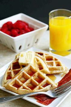 The BEST Buttermilk Waffles Recipe   Grandbaby Cakes