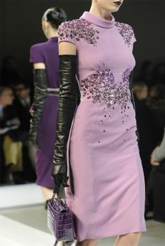 Bottega Veneta - Fall 2012 the dress, the gloves - oh yes