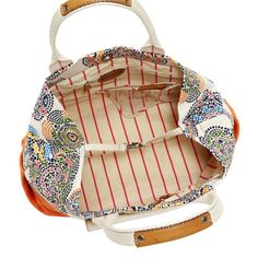 We're loving the hidden stripes inside the colorful new Lena Tote #Fossil #SongofSpring #Spring Register to Win Here: http://on.fb.me/Y44D7O