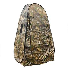 The Camouflage Pop-up Tent could offer a private shelter for toilet, changing clothes or camping. It is a good choice to use this item in public places such as park, pool, beach, campsite etc