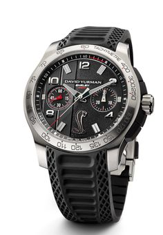 Caroll Shelby and David Yurman Collaborate On Limited Edition Muscle Car Inspired Timepiece