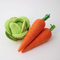 OlinoHobby: вязаные овощи и фрукты, вязаная еда на заказ. Crochet fruits and vegetables.