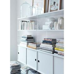 STRING SYSTEM, create your own modular storage system, from A to Z - Original version, designed and manufactured in Sweden - deco and design Estilo Interior, Home Interior, Interior Styling, Interior And Exterior, Scandinavian Interior, String Regal, String Shelf, Sweet Home, Shelving Systems