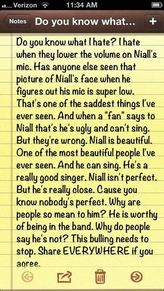 Hate need to stop Don't anyone dare hate on ANY of the boys. Or on ANYONE.