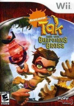 Tak and the Guardians of Gross Sony Playstation 2 Game Wii Games, Games To Play, Ninja Gaiden, Video Games Funny, Gamers, Playstation Games, Nintendo Ds, Cover Art, Cool Things To Buy
