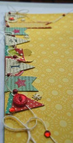 Daily Grind Designs: Craft Warehouse - Pink Paislee Hometown Summer & We R Memory Keepers Sew Easy scrapbook embellishment girl boy Scrapbook Borders, Scrapbook Embellishments, Baby Scrapbook, Scrapbook Cards, Scrapbook Layouts, Candy Cards, Cardmaking, Origami, Paper Crafts