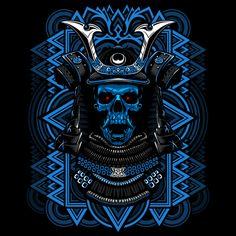 Samurai Skull - NeatoShop