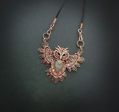 Can you wrap your mind around these wire wrapping jewelry pieces? Anastasiya Ivanova is a pro!