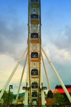 We love the Wheel at the Island in Pigeon forge!