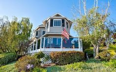 Wrap around deck - perfect for enjoying the ocean & golf course views!