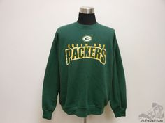 Mens NFL Green Bay Packers Crewneck Sweatshirt sz XL Extra Large NFC Lombardi #NFL #GreenBayPackers #tcpkickz