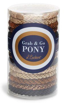 Grab & Go Set of 15 Ponytail Holders