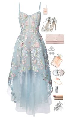 A fashion look from June 2017 featuring hi low gowns, heel pump and leather handbags. Browse and shop related looks. Pretty Prom Dresses, Elegant Dresses, Homecoming Dresses, Cute Dresses, Vintage Dresses, Beautiful Dresses, Classy Outfits, Pretty Outfits, Stylish Outfits