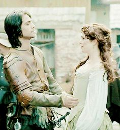 The Musketeers Constance et D'Artagnan