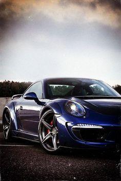 Porsche 911 with ADV1 Rims