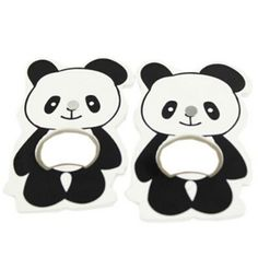 Panda bottle openers! A set of 2 for $12.48 from the Kitchen Gadget section of www.pandathings.com