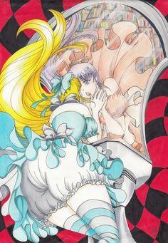 Alice In Wonderland, Artworks, Facebook, Anime, Cartoon Movies, Anime Music, Animation, Art Pieces, Anime Shows