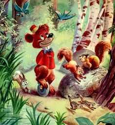 Disney Bongo the Circus Bear