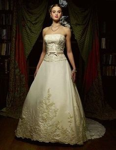 Casablanca-Bridal-A-line-Ivory-Large-Sleeveless-Strapless
