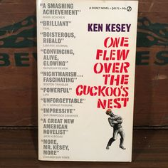 One Flew Over The Cuckoo's Nest by Ken Kesey Vintage Paperback Book 1962 Signet Novel Fiction by vintagebaron on Etsy