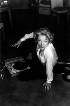 Marlène Dietrich / Photographie Willy Rizzo