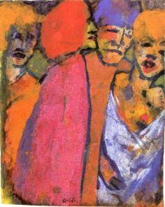 Encounter - Emil Nolde - The Athenaeum
