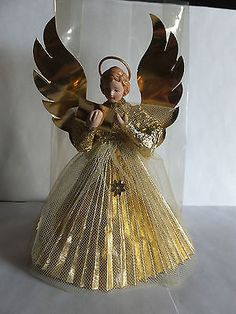 Remembering when Christmas wasnt Christmas without an angel atop your tree.