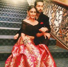 shqbaaz Anika Outfit Fashion Trends to Follow, Anika in lehenga choli ishqbaaz