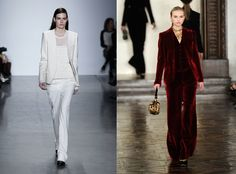 fall 2012 fashion - Google Search...the red velvet suit is beautiful!