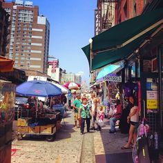 Canal Street, New York I love walking around here it's fun as long as it isn't raining