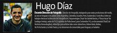 Hugo Diaz Docente de Dirección de Fotografía