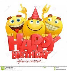 Happy Birthday Emoji Copy And Paste Smiley Wishes