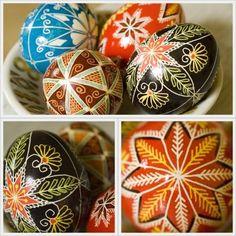 Pysanka Eggs. #Easter