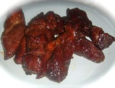 Oven grilled bbq boneless beef ribs