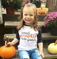 Pumpkin Cutie, Pumpkin Raglan, Cutest pumpkin in the patch raglan, kids ragland, fall tee, pumpkin s