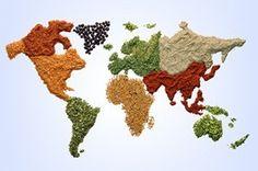 eten in verschillende landen
