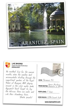 Aranjuez  is one of the Royal Estates of the Crown of Spain.