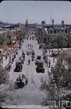 Opening Day, Disneyland 1955.