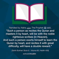 """All praise and thanks to ALLAH, He is making me memorise the Holy Qur'an :"""") May many memorise. Hadith Quotes, Quran Quotes, Islamic Quotes, Qoutes, Islamic Teachings, Islam Religion, Islam Muslim, Noble Quran, Allah God"""