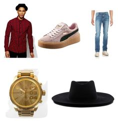"""""""Who style is this 3"""" by thegirlinthereddress5042 on Polyvore featuring ASOS, Puma, Joe's Jeans, Diesel, Off-White, mens, men, men's wear, mens wear and male"""