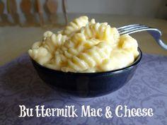 Buttermilk Mac and Cheese #recipe via www.jmanandmillerbug.com