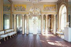 Gustav III  | Spegelsalongen i Gustav III:s paviljong på Haga, fotad av Jens Lindhe ...