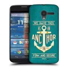 Head Case Anchor for The Soul Christian Typography Back Case for Motorola Moto X | eBay