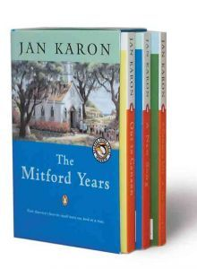 I like all Jan Karon's books. The characters become friends you enjoy visiting again and again.