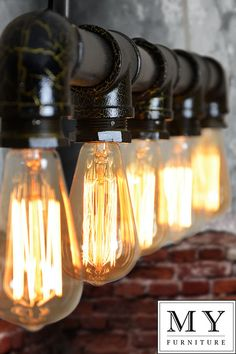 Didier Industrial Vintage warehouse  Iron Pipe retro light Edison Bulb included