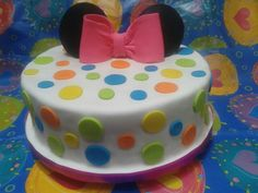 #Dots #Ribbon #CakesTime